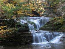 Buttermilk Falls - ws
