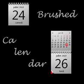 Brushed Calendar