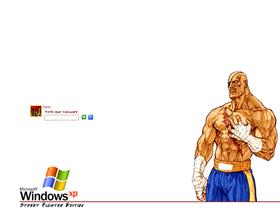 Street Fighter Logon - Sagat