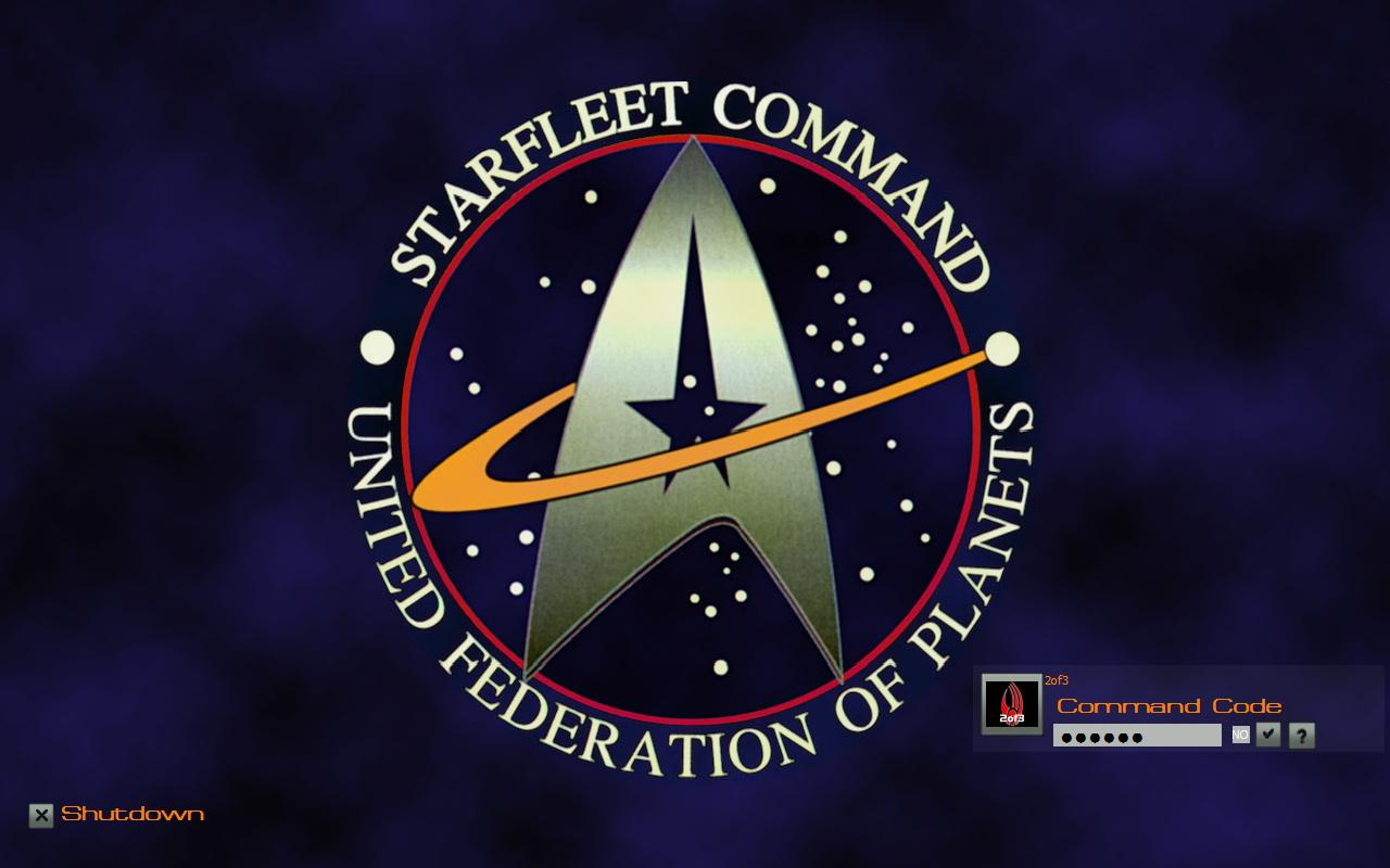 WinCustomize: Explore : LogonStudio XP : Starfleet
