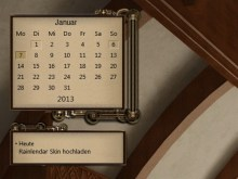 Steam Calendar
