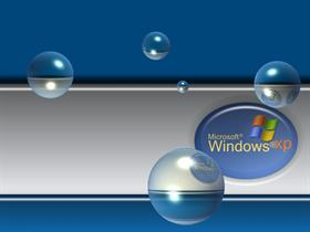 Microsoft Windows XP Blue