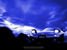 Mazda RX7 - blue 2