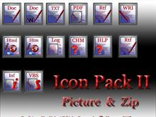 Icon Pack II - Text &amp; Other