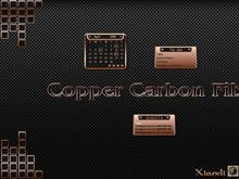 Copper Carbon Fibre Rainy