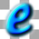 E (blue)