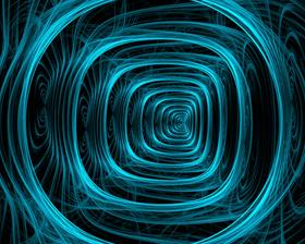 Blue Spiral