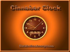 Cinnabar Clock