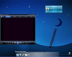 Another Boring Blue Desktop
