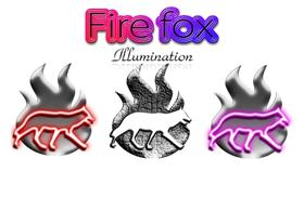 Fire Fox Illumination