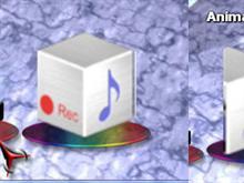 Animated Music Icon