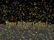Happy Birthday CarGuy1