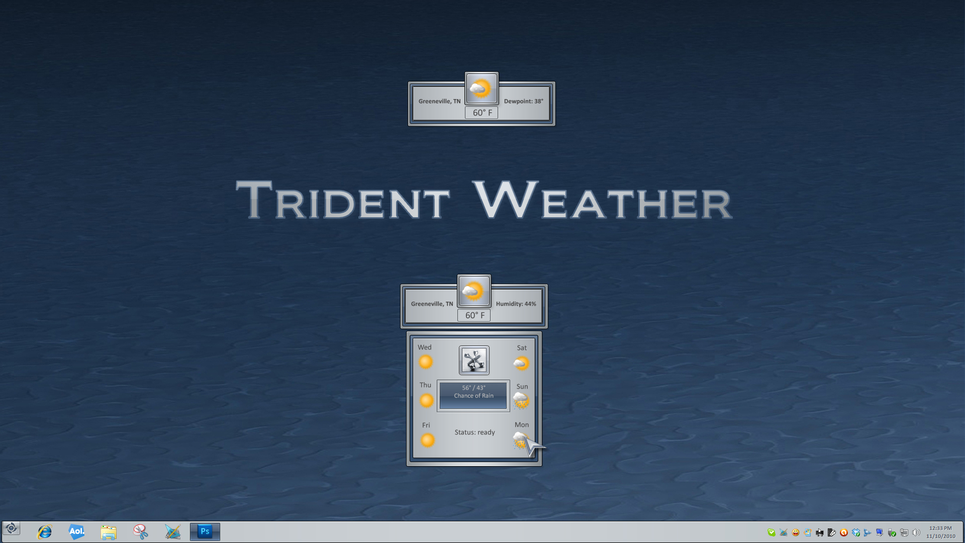 Trident Weather Widget