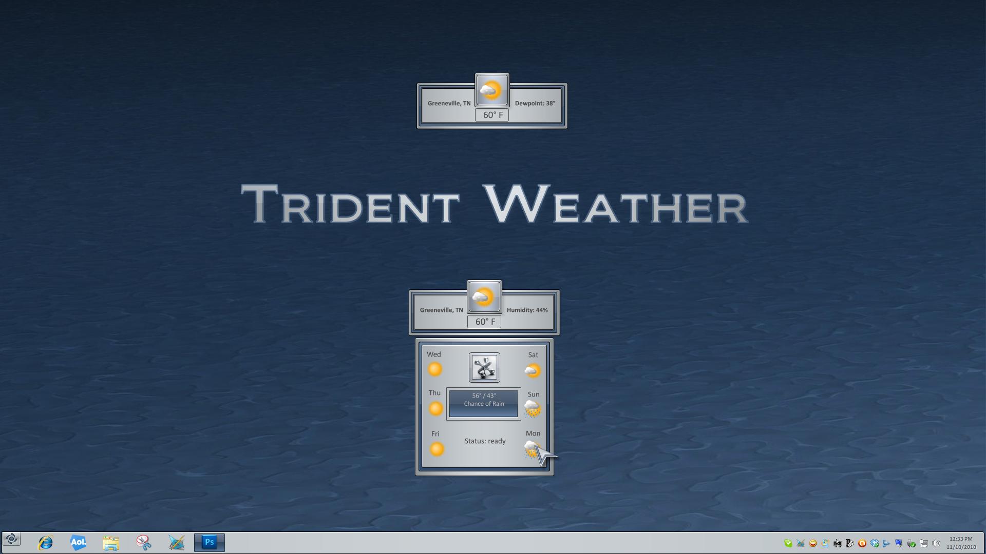 Trident Weather Widget