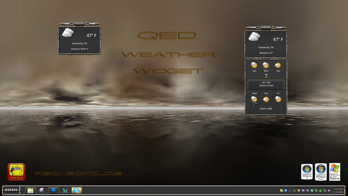 QED Weather Widget