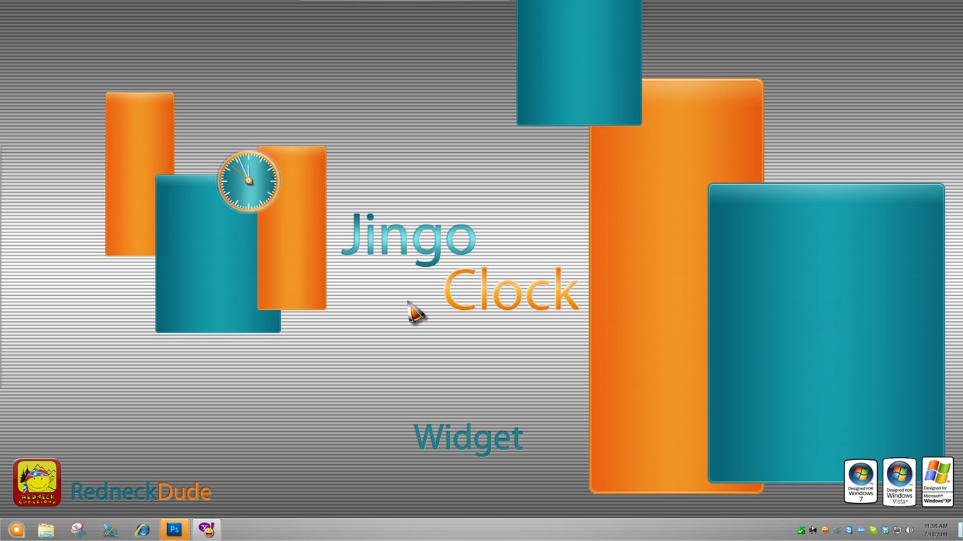 Jingo Clock Widget