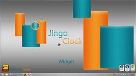Jingo Clock Widget