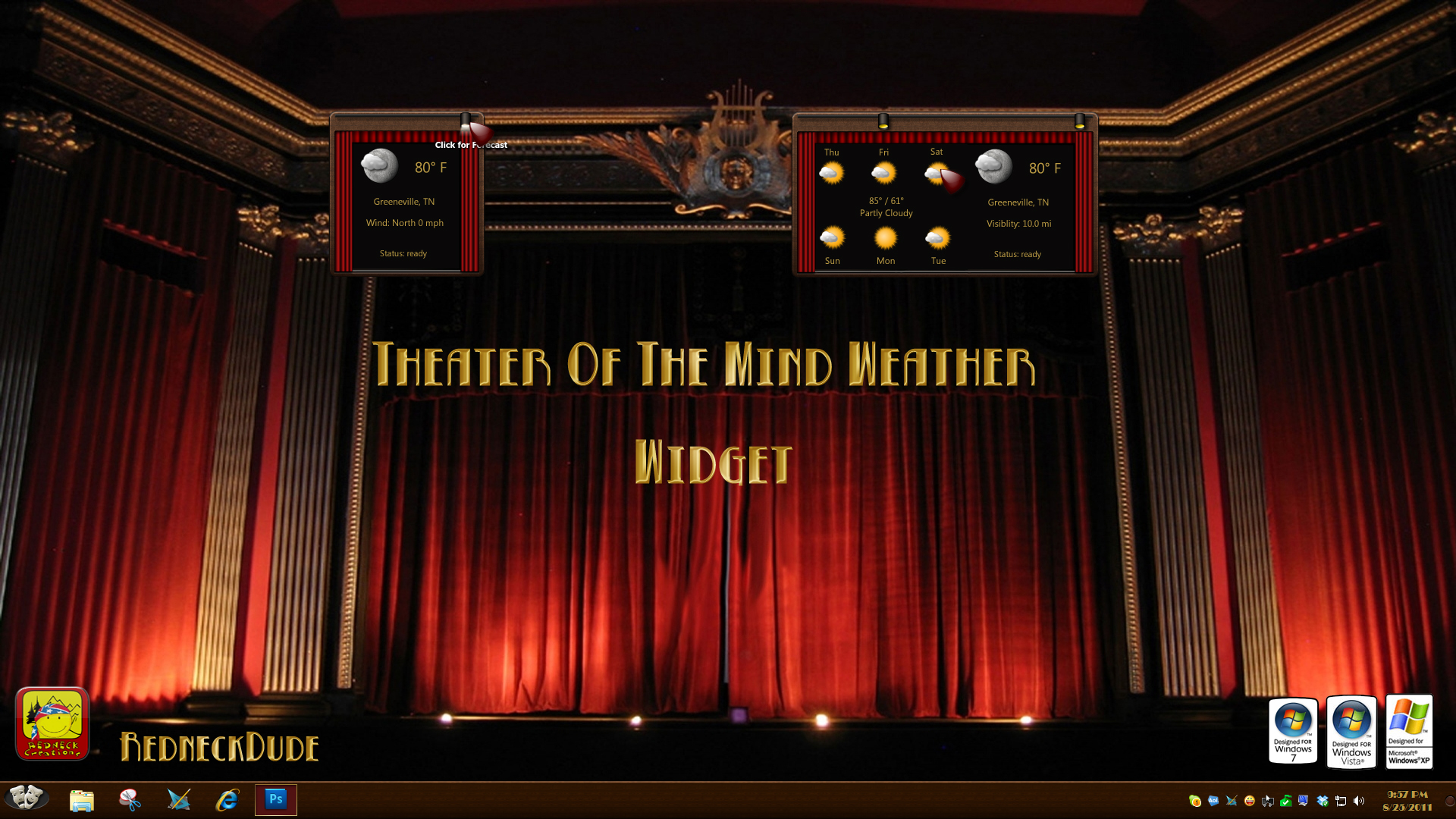 Theater Of The Mind Weather Widget