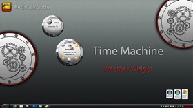 Time Machine Weather Widget