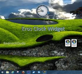Eros Clock Widget