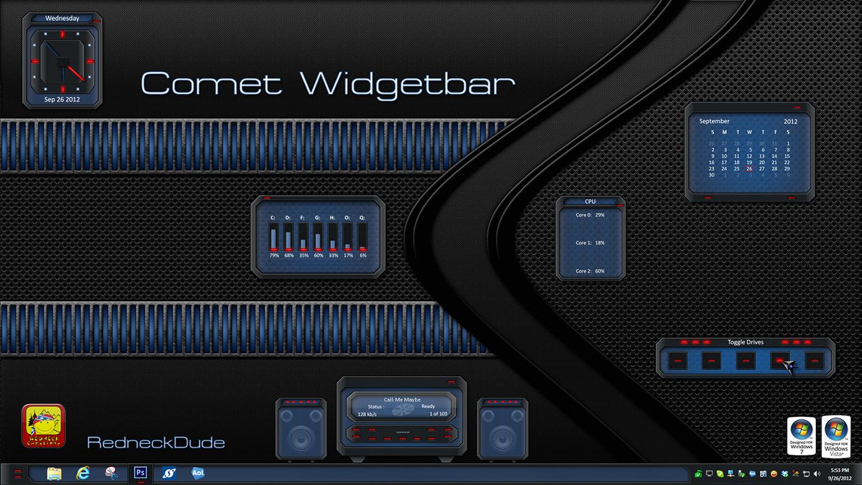 Comet Wigdet Bar