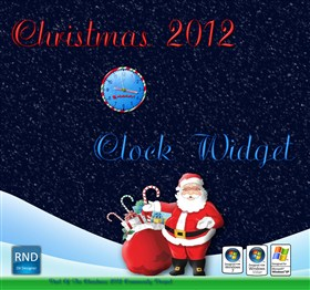 Christmas 2012 Clock Widget