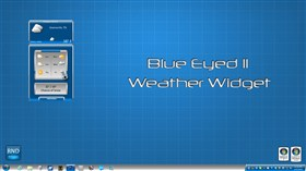 Blue Eyed II Weather Widget