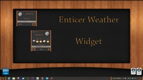 Enticer Weather Widget