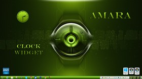Amara Clock Widget