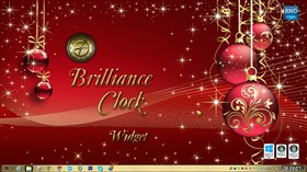 Brilliance Clock Widget