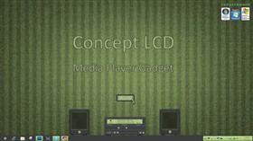 Concept LCD Media Gadget