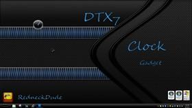 DTX 7 Clock Gadget