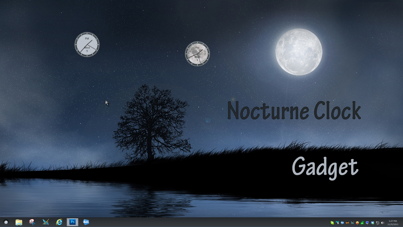 Nocturne Clock Gadgets