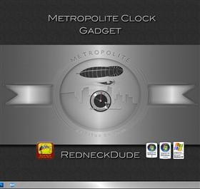 Metropolite Clock Gadget