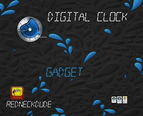 Digital Clock Gadget