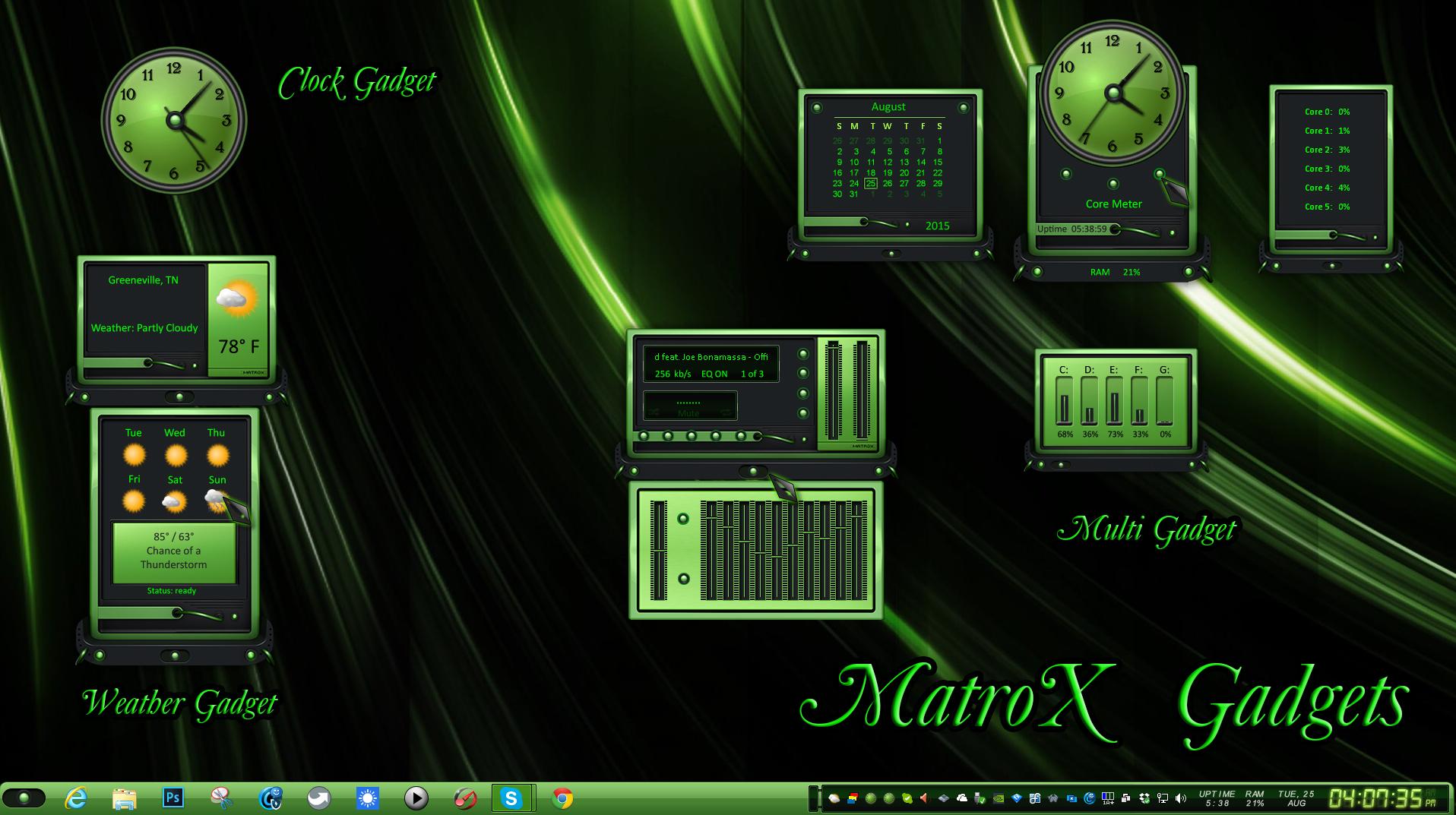MatroX Gadgets