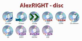 AlexRIGHT - Disc