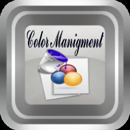 Color manigment (icon)