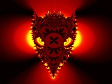Fire Demon Screensaver