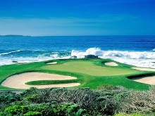Golf_Pepple Beach Ca