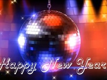 New Year Disco Ball