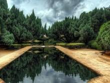 HDR Garden Pool