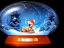 Bambi Snow Globe