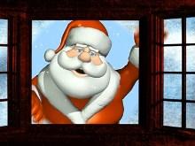 Santa Window View