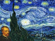 "van Gogh's ""Starry Night"" 2pk"