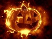 Evil Pumpkin Halloween