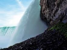 Niagara Falls Side View Logon