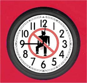 No Gas Clock