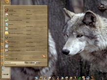 Wolves and Wood