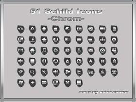 Schild Icons_Chrom